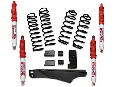 SkyJacker 2.5 in. Rock Ready Lift Kit w/ Hydro Shocks (07-18 Jeep Wrangler JK 4 Door)