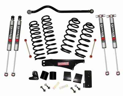 SkyJacker 3.5 in. Softride Lift Kit w/ M95 Shocks & Adjustable Front Track Bar (07-18 Jeep Wrangler JK 2 Door)