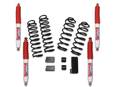 SkyJacker 2.5 in. Softride Lift Kit w/ Hydro Shocks (07-18 Jeep Wrangler JK 4 Door)