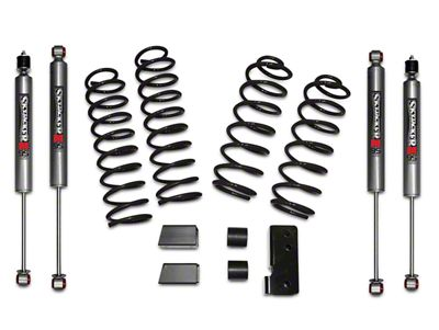 SkyJacker 2.5 in. Softride Lift Kit w/ M95 Shocks (07-18 Jeep Wrangler JK 4 Door)