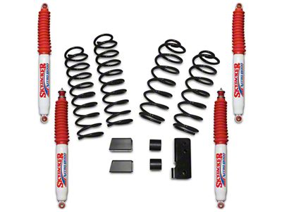 SkyJacker 2.5 in. Softride Lift Kit w/ Nitro Shocks (07-18 Jeep Wrangler JK 4 Door)