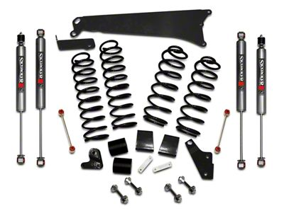SkyJacker 4 in. Rock Ready Lift Kit w/ M95 Shocks (07-18 Jeep Wrangler JK 4 Door)