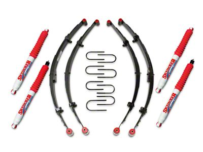 SkyJacker 2.5 in. Lift Kit w/ Hydro Shocks (87-95 Jeep Wrangler YJ)