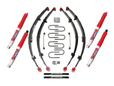 SkyJacker 4 in. Lift Kit w/ Hydro Shocks (87-95 Jeep Wrangler YJ)