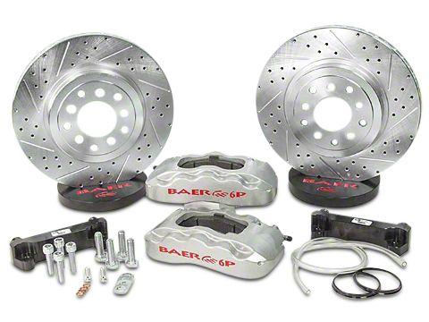 Baer Pro Front Brake Kit - Silver (07-18 Jeep Wrangler JK)