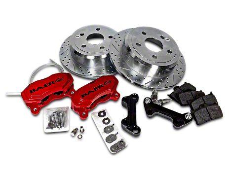 Baer SS4 Rear Brake Kit - Red (07-18 Jeep Wrangler JK)