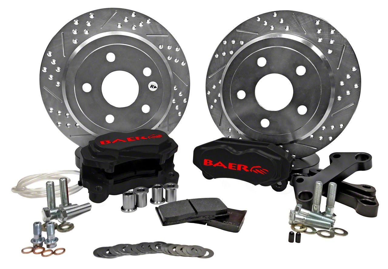 Baer SS4 Rear Brake Kit - Black (07-18 Jeep Wrangler JK)