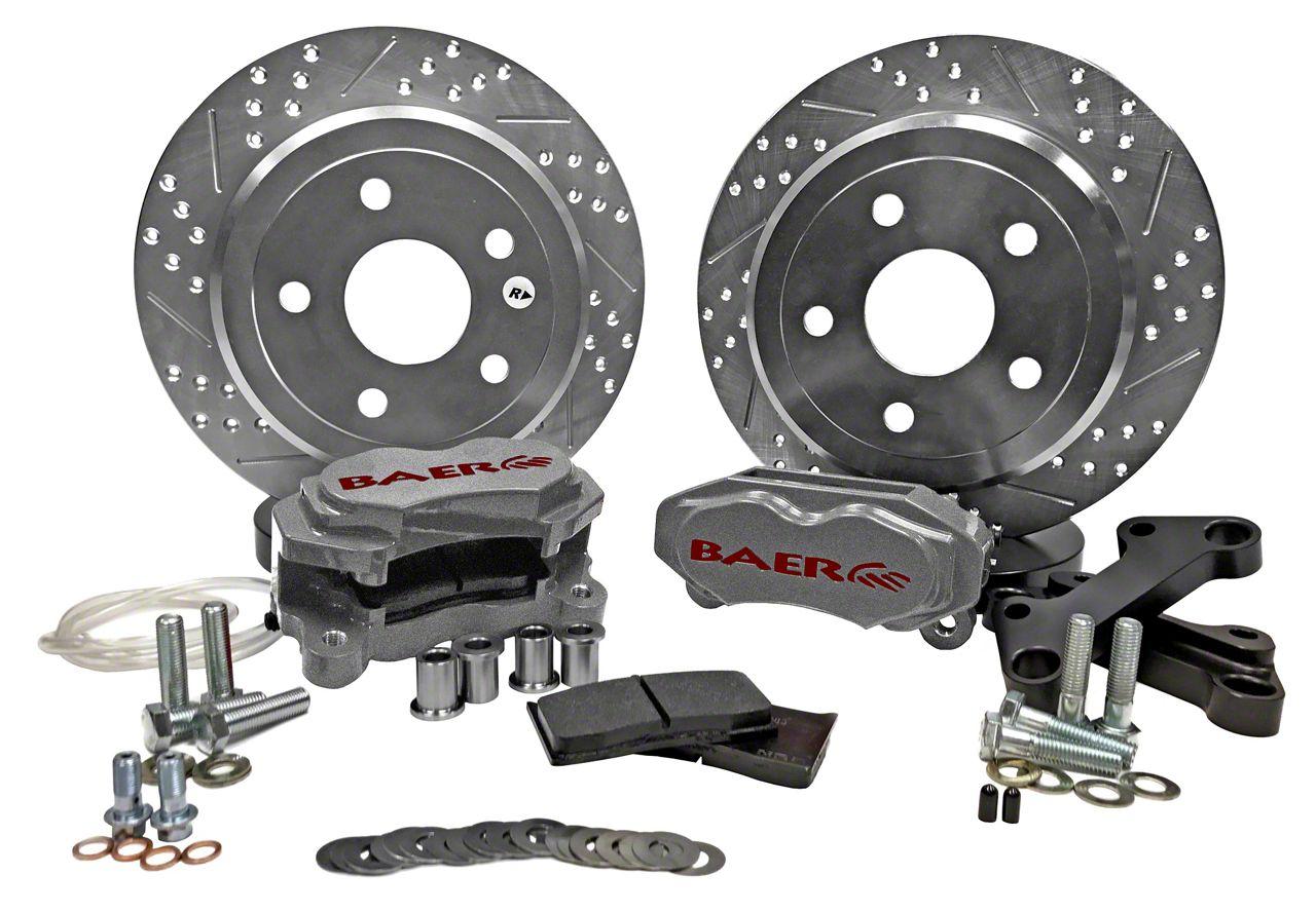 Baer SS4 Rear Brake Kit - Silver (07-18 Jeep Wrangler JK)