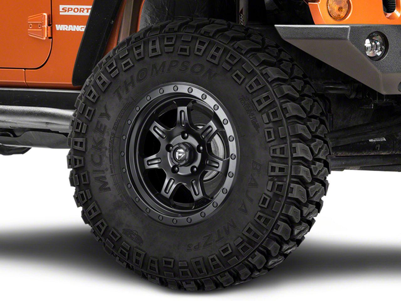 Fuel Wheels JM2 Matte Black Wheel - 17x8.5 (07-18 Jeep Wrangler JK)