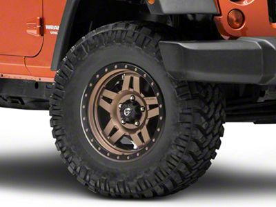 Fuel Wheels ANZA Bronze Wheel - 17x8.5 (07-18 Jeep Wrangler JK; 2018 Jeep Wrangler JL)