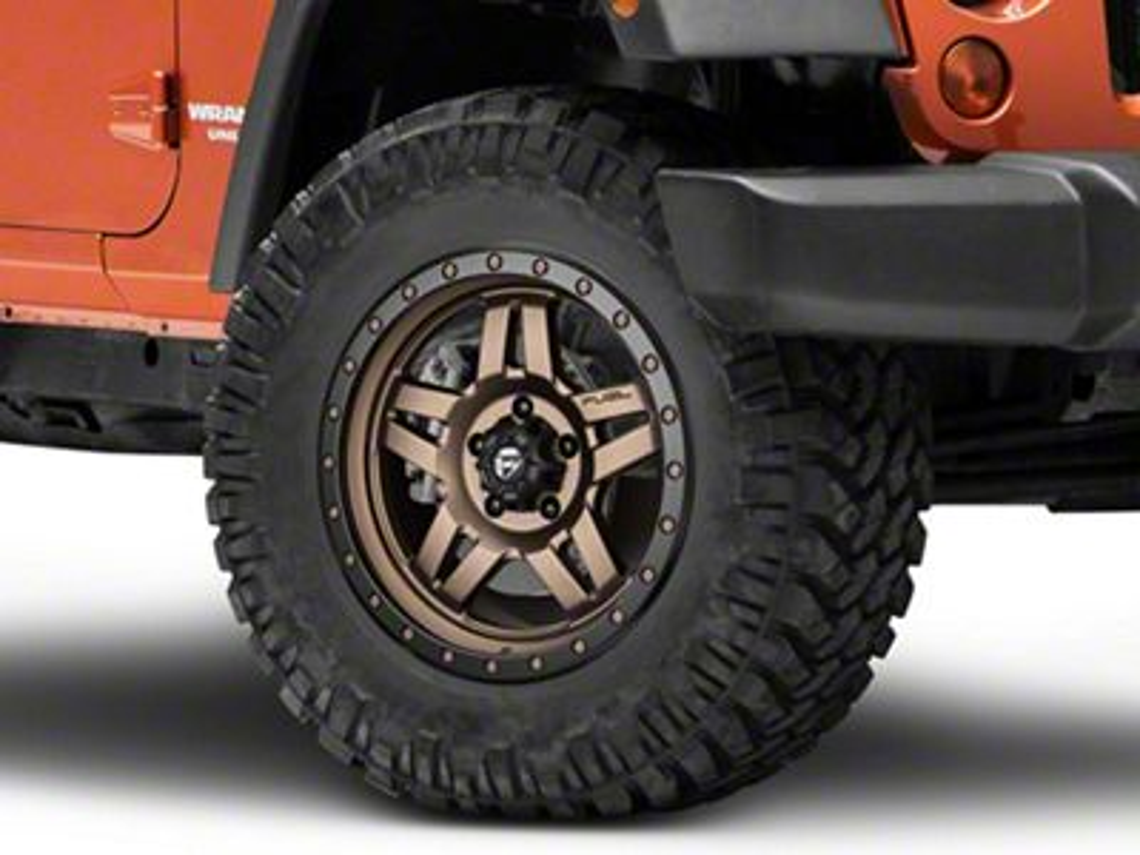 Fuel Wheels ANZA Bronze Wheel - 18x9 (07-18 Jeep Wrangler JK; 2018 Jeep Wrangler JL)
