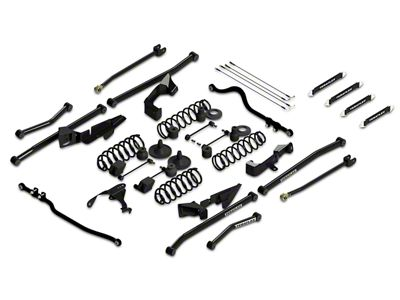 Teraflex 4 in. Sport S/T4 Suspension System w/o Shocks (07-18 Jeep Wrangler JK 2 Door)