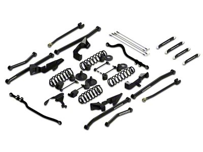 Teraflex 4 in. Sport S/T4 Suspension System w/o Shocks (07-18 Jeep Wrangler JK 4 Door)
