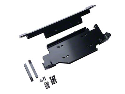 Rugged Ridge Front Bumper Winch Plate (13-18 Jeep Wrangler JK)