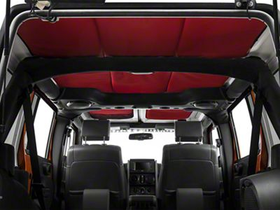 JTopsUSA Headliner - Red (07-18 Jeep Wrangler JK 4 Door)