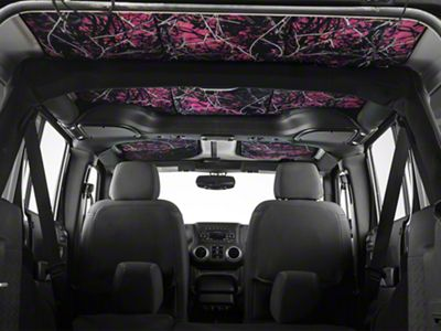 JTopsUSA Headliner - Muddy Girl (07-18 Jeep Wrangler JK 4 Door)