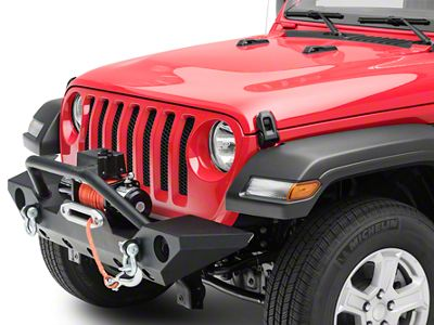 Barricade Trail Force HD Front Bumper & Winch Combo (18-19 Jeep Wrangler JL)