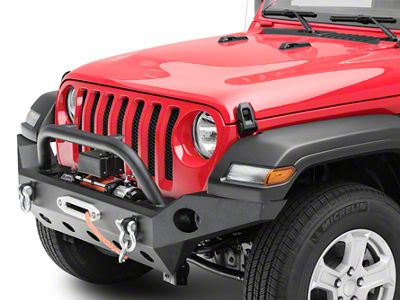 Barricade Trail Force HD Full Width Front Bumper & Winch Combo (18-19 Jeep Wrangler JL)