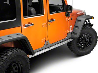 Artec Industries Nighthawk Sliders (07-18 Jeep Wrangler JK 4 Door)