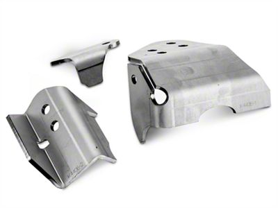 Artec Industries Heavy Duty Raised Tracbar Bracket (07-18 Jeep Wrangler JK)