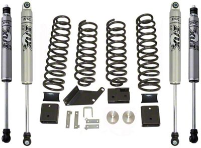 Max Trac 3 in. Lift Kit w/ Shocks (07-18 Jeep Wrangler JK)