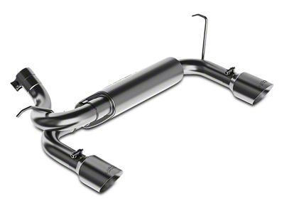 MBRP XP Series Axle-Back Exhaust (07-18 Jeep Wrangler JK)