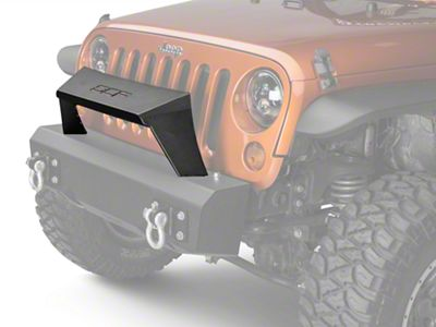 Off Camber Fabrications by MBRP Formed Front Light Bar for OCF Bumpers - Black (07-18 Jeep Wrangler JK)