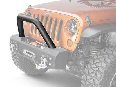 Off Camber Fabrications by MBRP Bumper Light Bar/Grill Guard - LineX Coated (07-18 Jeep Wrangler JK)