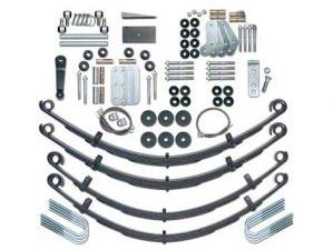Rubicon Express 4.5 in. Extreme Duty Lift Kit w/ Mono Tube Shocks (87-95 Jeep Wrangler YJ)