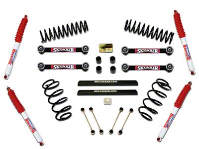 SkyJacker 4 in. Sport Lift w/ Shocks (97-02 Jeep Wrangler TJ)