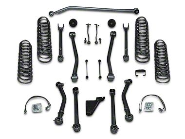 Rubicon Express 4.5 in. Super Flex Lift Kit w/o Shocks (07-18 Jeep Wrangler JK 4 Door)