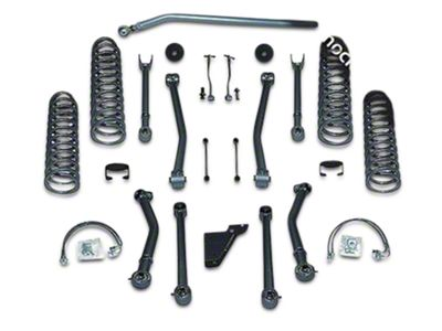 Rubicon Express 4.5 in. Super Flex Lift Kit w/ Mono Tube Shocks (07-18 Jeep Wrangler JK)