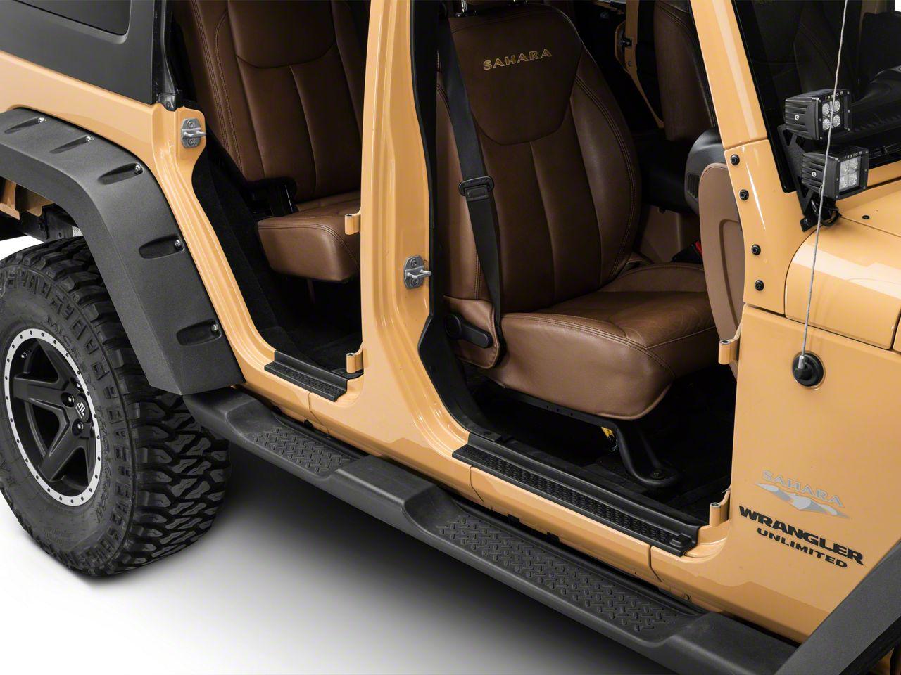 Rugged Ridge All-Terrain Entry Guard Kit (07-18 Jeep Wrangler JK 4 Door)