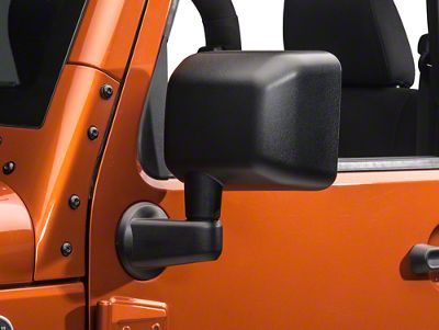 OPR Left Side Replacement Mirror - Power/Heated (2014 Wrangler JK)