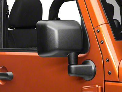OPR Right Side Replacement Mirror - Power/Heated (2014 Jeep Wrangler JK)