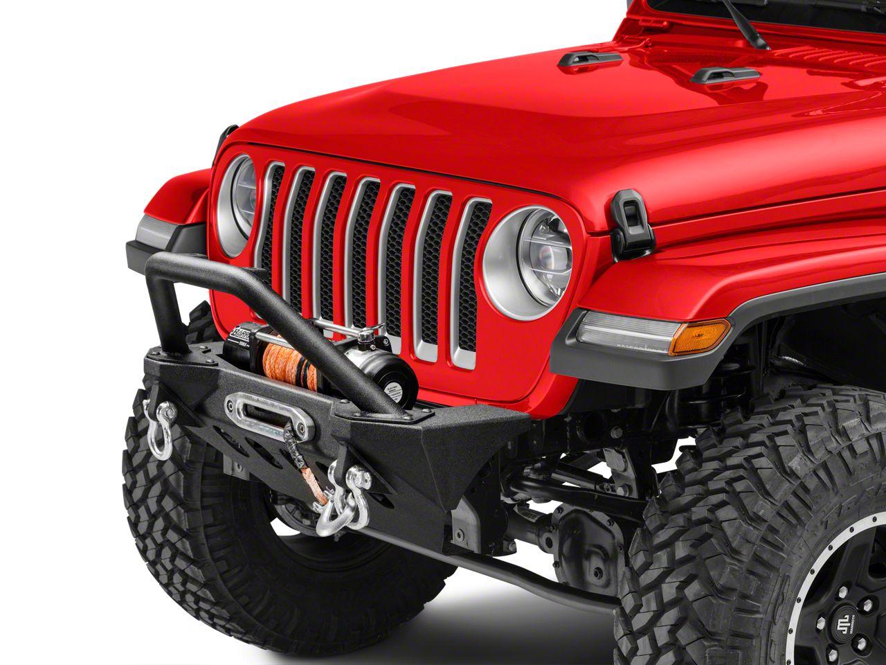 RedRock 4x4 Stubby Front Bumper (2018 Jeep Wrangler JL)
