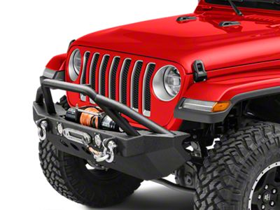 RedRock 4x4 Approach Front Bumper w/ LED Lights (2018 Jeep Wrangler JL)
