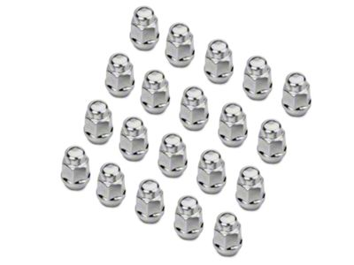 Chrome Acorn Lug Nut Kit - 1/2 in. x 20 (07-18 Jeep Wrangler JK)
