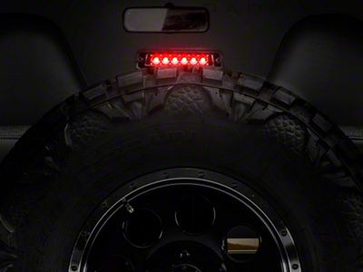 Alteon LED 3rd Brake Light - Crystal Clear (97-06 Jeep Wrangler TJ)