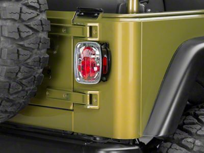 Alteon Crystal Eyes Tail Lights - Crystal Clear (87-06 Jeep Wrangler YJ, TJ)