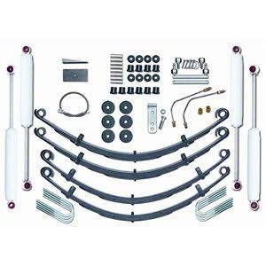 Rubicon Express 4 in. Standard Lift Kit w/ Shocks (87-95 Jeep Wrangler YJ)