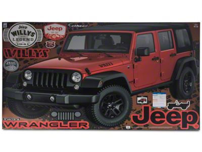 Fathead 2015 Jeep Wrangler Unlimited Wall Decals