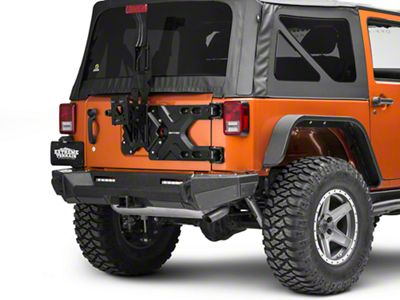 Smittybilt Pivot HD Tire Carrier (07-18 Jeep Wrangler JK)