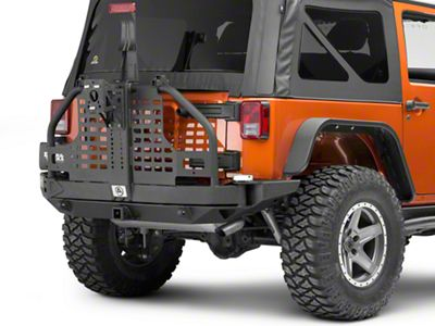 Smittybilt XRC Atlas Tire Carrier (07-18 Jeep Wrangler JK)