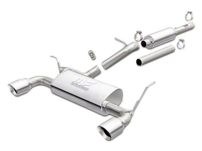 Magnaflow Performance Series Cat-Back Exhaust w/ Polished Tips (12-18 Jeep Wrangler JK)