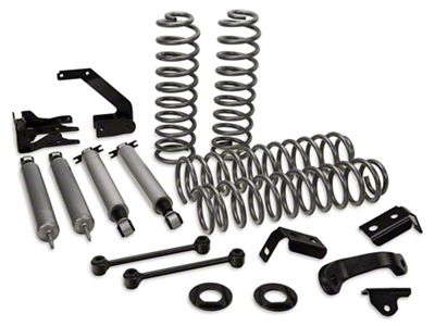 Rough Country 4 in. Suspension Lift Kit w/ Shocks (07-18 Jeep Wrangler JK 4 Door)