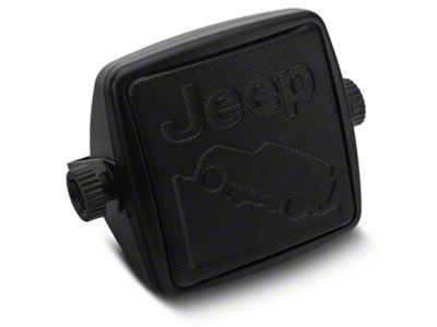 Alterum External 2-3/4 in. Speaker w/ Embossed Jeep Logos (87-19 Jeep Wrangler YJ, TJ, JK & JL)