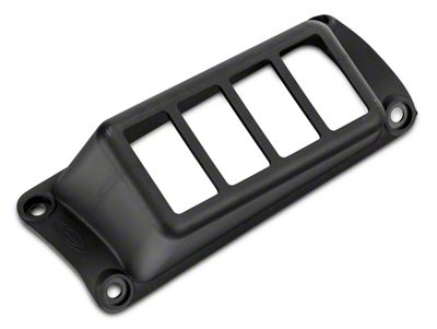 Daystar A-Pillar Switch Panel - Black (07-18 Jeep Wrangler JK)