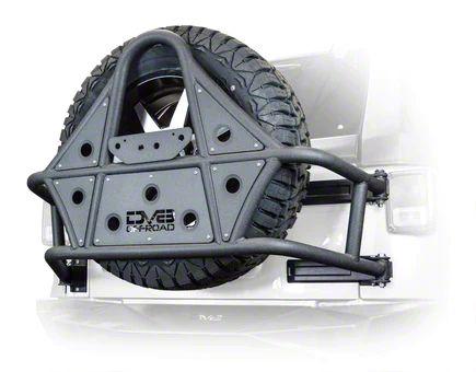 DV8 Off-Road Tire Carrier (07-18 Jeep Wrangler JK)