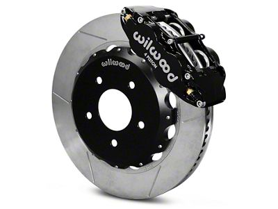 Wilwood Black Superlite 4R Big Brake Kit - Front Kit (07-18 Jeep Wrangler JK)